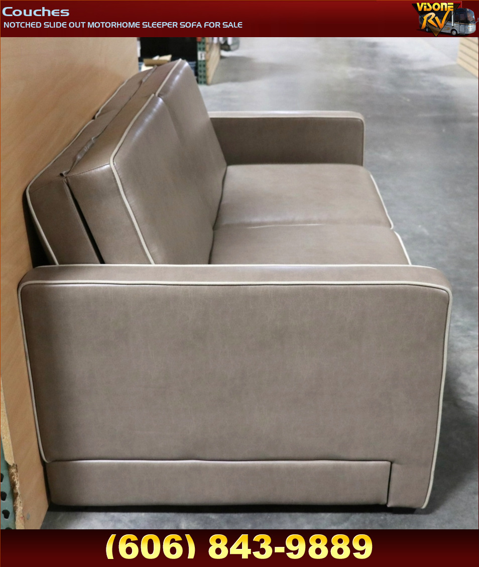 Rv Furniture Notched Slide Out Motorhome Sleeper Sofa For