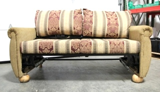 USED RV/MOTORHOME/CAMPER FURNITURE SLEEPER FLIP OUT SOFA WITH AIR MATTRESS