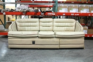USED RV/MOTORHOME VILLA INTERNATIONAL SOFA COUCH FROM PREVOST BUS | RECOVERABLE