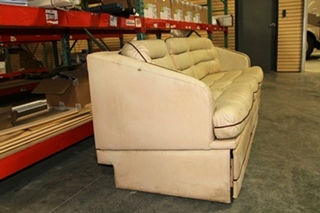 USED RV/MOTORHOME VILLA INTERNATIONAL SOFA COUCH FROM PREVOST BUS   RECOVERABLE