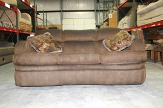 USED RV/MOTORHOME RECOVERABLE FLEXSTEEL FLIP OUT SLEEPER SOFA COUCH