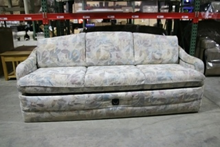 USED RV/MOTORHOME FLIP DOWN SLEEPER SOFA | FLORAL DESIGNS