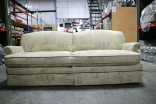 USED RV/MOTORHOME/CAMPER FURNITURE FOLD DOWN SLEEPER SOFA