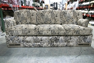 USED RV/MOTORHOME/CAMPER FURNITURE FOLD DOWN FLORAL SLEEPER SOFA