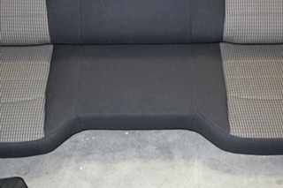 DODGE RAM CREW CAB 2 TONE CLOTH INTERIOR - DRIVERS, PASSENGER, CONSOLE AND BACKSEAT