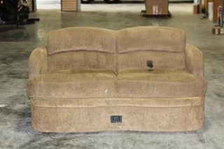 USED RV/MOTORHOME LOUNGE SOFA W/ UNDERNEATH STORAGE