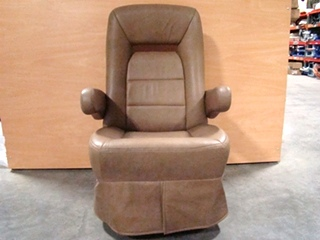 used rvmotorhome furniture brown captain chair with controls on side