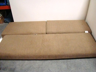 USED RV/MOTORHOME FURNITURE 3 PC DINETTE CUSHION SET FOR SALE