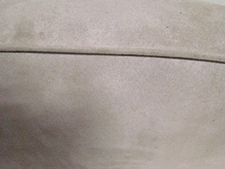 USED RV/MOTORHOME FURNITURE BACK DINETTE CUSHION (ONLY) FOR SALE