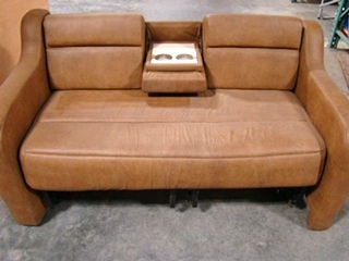 Rv Furniture Used Rv Motorhome Furniture Brown Leather