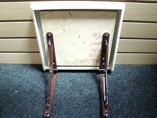 USED RV/MOTORHOME FURNITURE CAMEL/IVORY SPECKLED TABLE EXTENDER FOR SALE