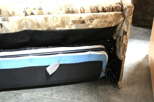 RV Furniture USED RV CLOTH PULL OUT SLEEPER SOFA FOR SALE Couches