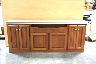 USED MONACO MOTORHOME DINETTE CABINETS & TABLE SET FOR SALE