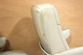 USED RV LEATHER LOOK CAPTAIN CHAIRS FOR SALE