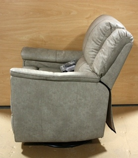 RV LEATHER VINYL SWIVEL GLIDER RECLINER FOR SALE