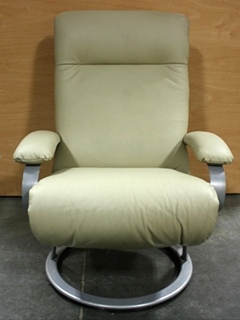 USED RV SWIVEL RECLINER EURO CHAIR FOR SALE