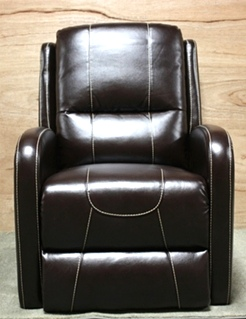 THOMAS PAYNE COLLECTION PUSH BACK RECLINER JALECO CHOCOLATE RV FURNITURE FOR SALE