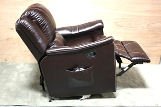 SWIVEL GLIDER RECLINER JALECO CHOCOLATE THOMAS PAYNE COLLECTION MOTORHOME FURNITURE FOR SALE