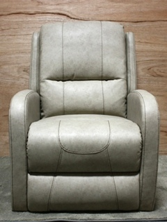 RV GRANTLAND DOESKIN PUSH BACK RECLINER THOMAS PAYNE COLLECTION FURNITURE FOR SALE
