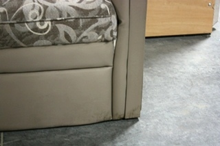 USED VINYL AND CLOTH CHAIR RV FURNITURE FOR SALE
