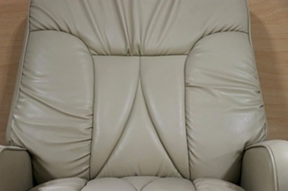 USED MOTORHOME BEIGE SWIVEL RECLINER FOR SALE
