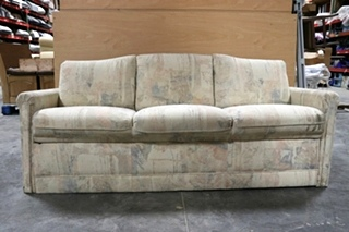 USED CLOTH JACK KNIFE RV SLEEPER SOFA FOR SALE