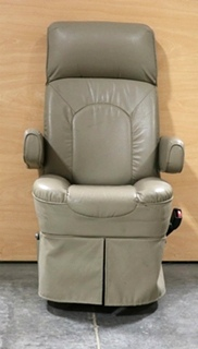 USED MOTORHOME FLEXSTEEL PASSENGER CHAIR RV FURNITURE FOR SALE