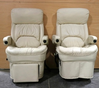 USED RV CAPTAIN CHAIR SET MOTORHOME FURNITURE FOR SALE