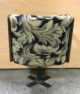 USED CLOTH SWIVEL DINETTE CHAIR RV FURNITURE FOR SALE