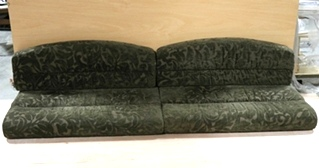 USED RV 4 PIECE CLOTH DINETTE CUSHION SET MOTORHOME FURNITURE FOR SALE