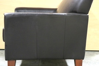 BROWN LEATHER USED MOTORHOME CHAIR FOR SALE